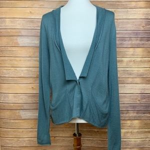[Free People] Light Blue Green Cardigan